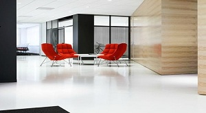 Sustainable Epoxy Coated Office Floor