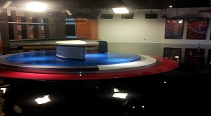 Television Studio Epoxy Floors