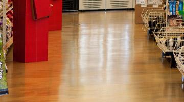 resin coated floor