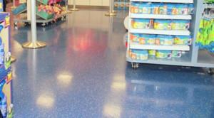 Slip Resistant Retail Floor