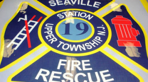 Custom Fire Station Logo Flooring