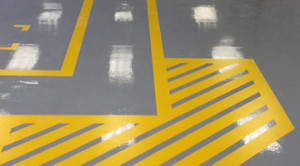 Concrete Flooring Striping