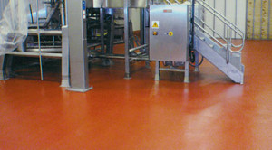 Thermal Shock Resistant Industrial Floor