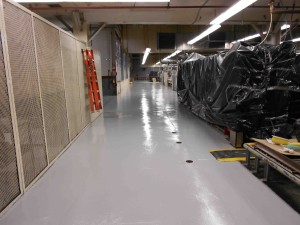 professional can apply epoxy floor coatings to concrete to improve quality