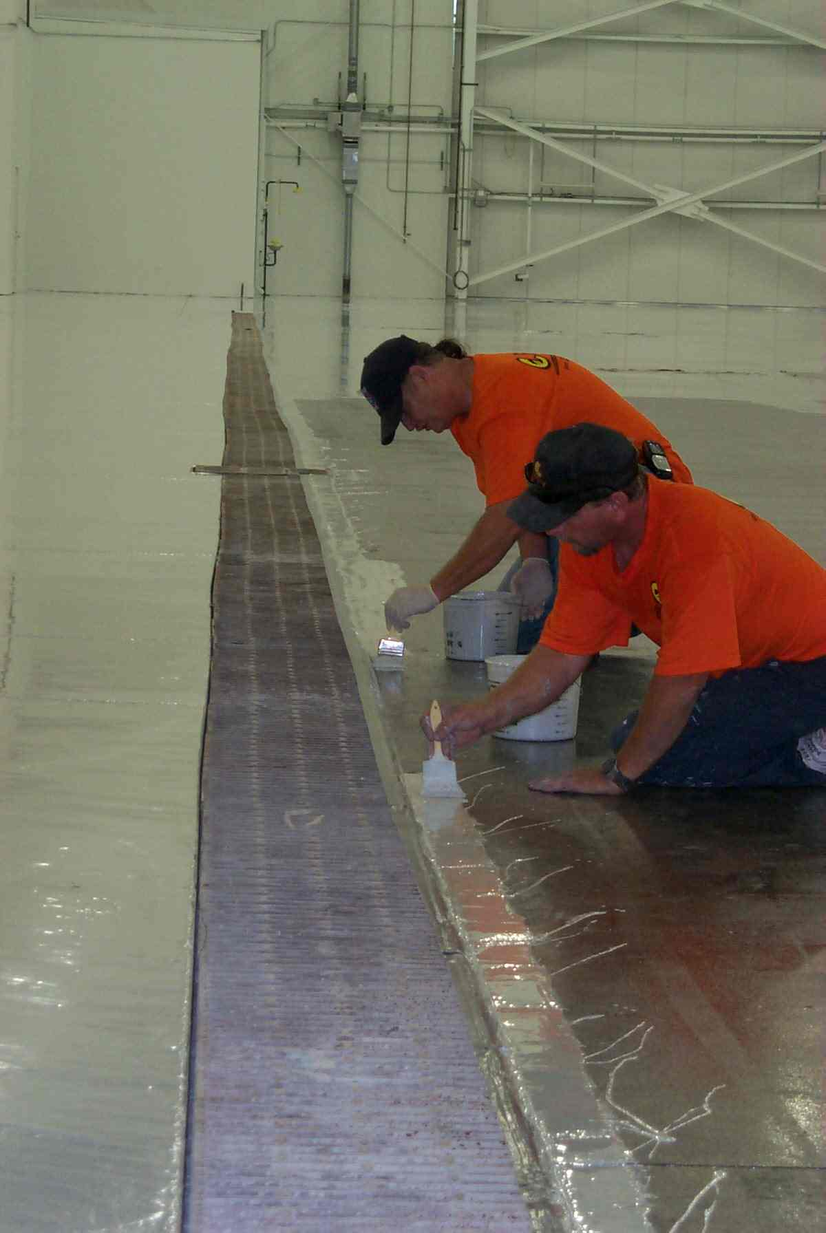 Preparation Of Industrial Floors For Painting