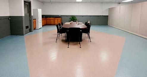 Epoxy Colored Quartz System Decorative Concrete Floors