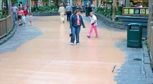Shopping Mall Floor