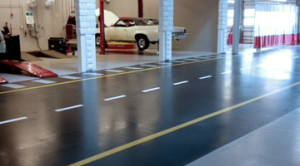 Car Shop Heavy Duty Flooring