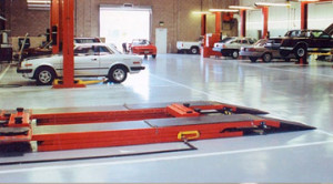 Auto Garage Concrete Coated Floor