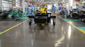 Industrial Heavy Duty Concrete Floor