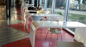 Restaurant Concrete Floor