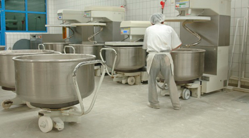 Commercial Bakery requires durable floor coating