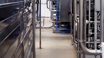 Dairy facilities requires unique floor coating