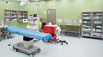 Floor coatings specifically for hospitals are Hygenic