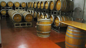 Wineries require stain and chemical resistance flooring